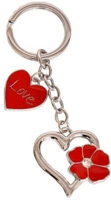 Indigo Creatives Valentine Lover Heart Steel Key Chain