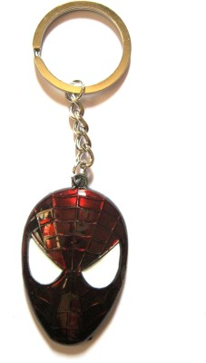 Optimum Deal Cute Spiderman Mask Metal Key Chain
