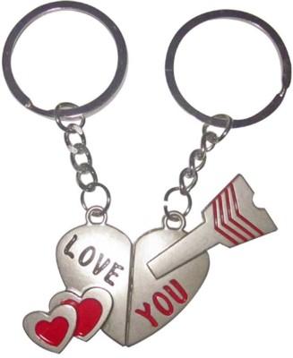 ShopeGift Love You Heart Brk Arrow Key Chain