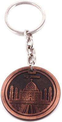 VeeVi Copper Color Taj Mahal India Key Chain