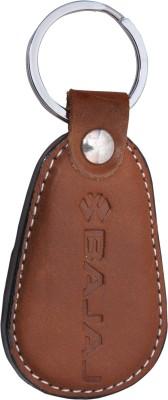 Zeroza Bajaj Leather BJ02 Key Chain