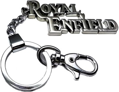 Confident ROYAL ENFIELD Locking Metal Locking Key Chain