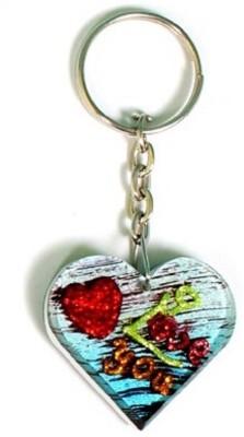 Rasper Beautiful Heart Shape I Love You Key Chain