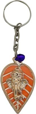 Aaradhi Divya Mantra Petal Ganesha Locking Key Chain