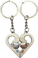 Silver Swan Couple Love Cups In Heart Shape Metal Key Chain best price on Flipkart @ Rs. 200