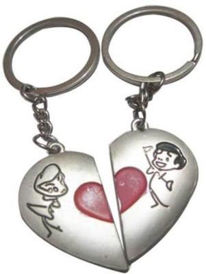 ShopeGift Half Heart BOY GIRL Key Chain