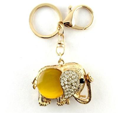 S2S Elephant Fashion Gold Key Chain Locking Key Chain