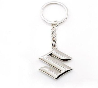 Motoway Suzuki Logo Metallic Car & Bike Key Chain