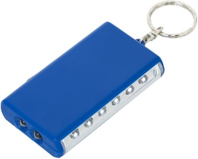 Gadge KEYCHAIN WITH TORCH AND 6 LED LAMP (BLUE) Key Chain
