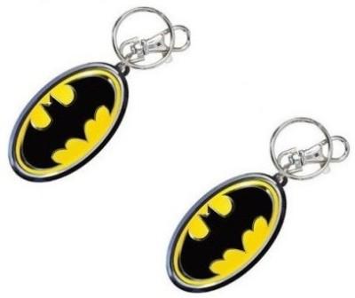 Confident 2 Yellow With Black Metal Batman Locking Key Chain