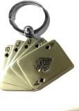 Tech Fashion Poker Cards Locking Key Cha...