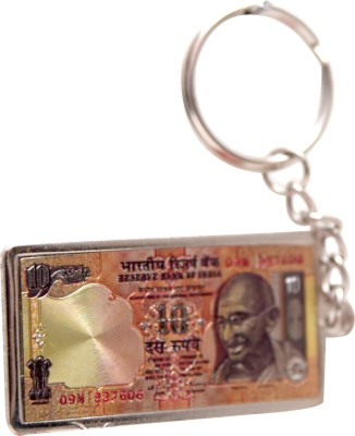 Oyedeal Rs 10 Artificial Indian Currency KYCN1652 Key Chain