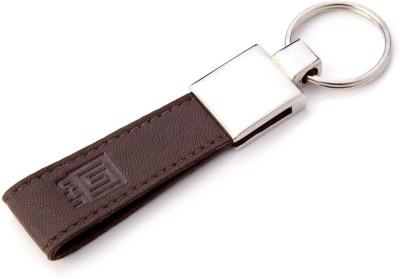 U+N Genuine Leather Budget Key Ring 002 Key Chain