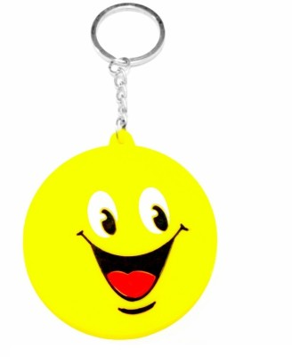i-gadgets Laughing Smiley Rubber Key Chain