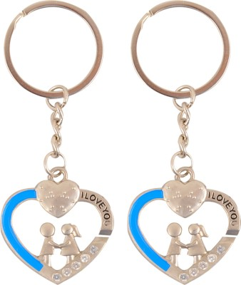 ShopeGift Love Heart Couple Key Chain