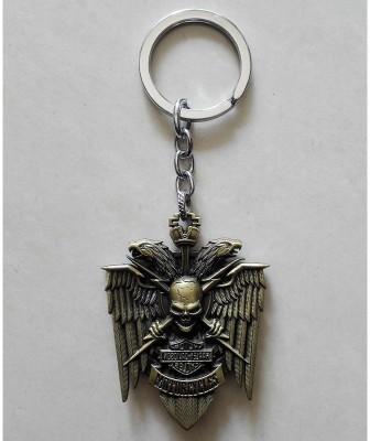 Optimus traders Motor HarleyDavidsonn Cycles Skull Logo Metal Locking Key Chain