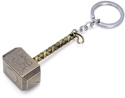 Optimus traders Superhero Hammer Powerfull 3d metal Key Chain