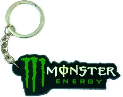 Confident 01 Monster Speed Non Metal Key Chain