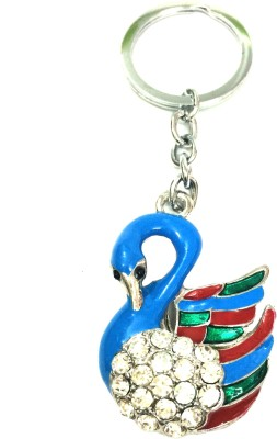 Fashionable Key Chain Stud Swan Carabiner