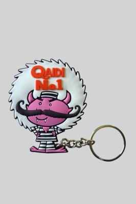 Chimp Qaidi No.1 Key Chain