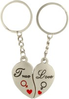 CTW True Love Couple Heart Valentine Gift Metal Key Chain best price on Flipkart @ Rs. 169