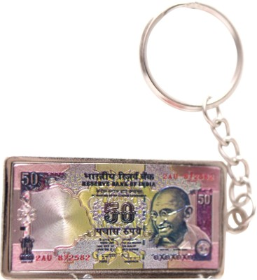 Oyedeal Rs 50 Artificial Indian Currency KYCN1654 Key Chain