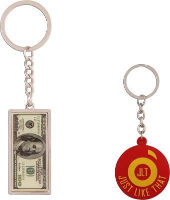 JLT 100 Dollar Note Keychain Locking Key Chain