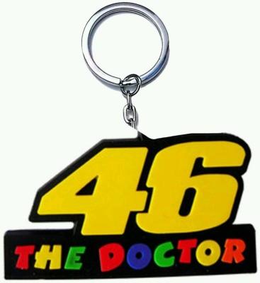 mapple doctor 46 rubber .jpeg Key Chain