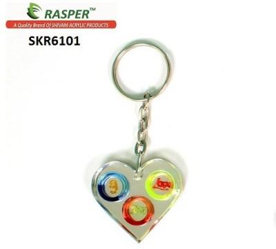 Rasper Unique Heart Shape I Love You Key Chain