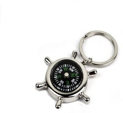 Phoenix Compass Metal Key Chain