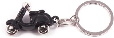 VeeVi Black Moving Scooty Key Chain