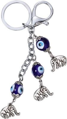 ShopeGift Elephant Evil Eye Protection Locking Key Chain
