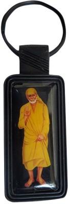 DCS Classic Yellow Sai Baba Key Chain