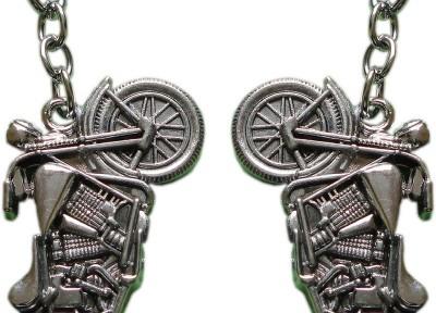 Singh Xpress Key Chain- Bike Rajdoot(Pack Of 2) Key Chain