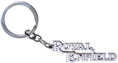 Ezone Royal Enfield Bike Metal Logo Key Chain