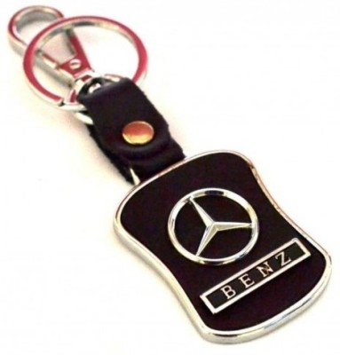 Prime Traders Mercedes Leather Imported Locking Key Chain