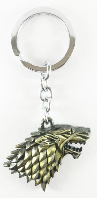 ab posters Winter is coming Stark gold Key Chain
