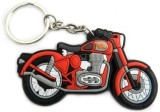Parrk Royal Enfield Red Silicon Keychain...