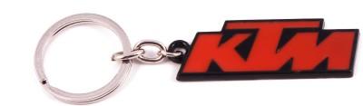 VeeVi Black Orange KTM Bike Key Chain