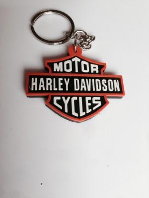 Aura Harley Davidson Stylish Rubber Key Chain