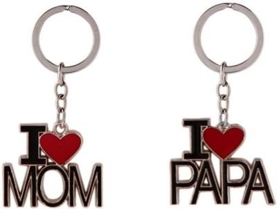 KeepSake I Love Mom & Dad Combo Key Chain