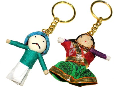 Luv Indiya Keychain with Puppet Key Chain
