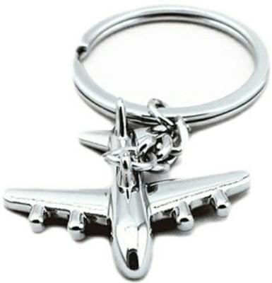 Mapple Aeroplane Metal Keychain Carabiner