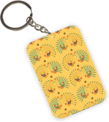 The Crazy Me Peacock Key Chain