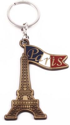 VeeVi Brass Paris Eiffel Tower Key Chain