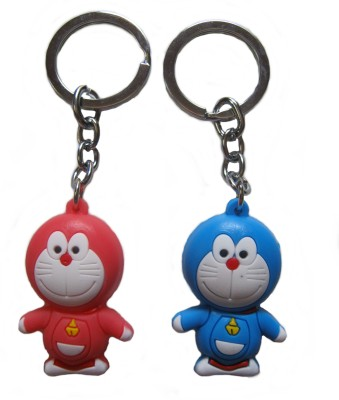 Optimum Deal Cartoon Character Doraeoman PVC Rubber Key Chain