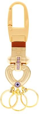 VeeVi Post Horse Heart Key Chain Locking Carabiner