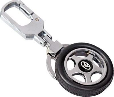 Amor Toyota Tyre Rotary Wheel Key Chain Locking Key Chain