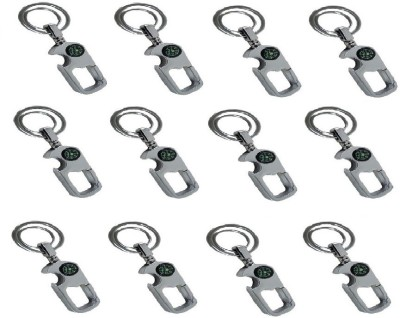 Ezone Digione Curved Gate_pack of 12 Locking Key Chain