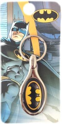 Warner Bros WB Batman Oval M 266 Key Chain